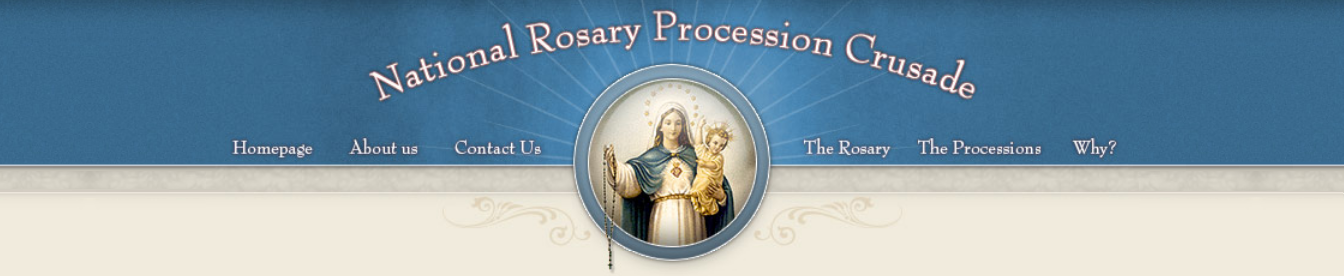National Rosary Procession Crusade